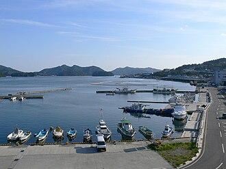 Ōfunato, Iwate - Ofunato port, 2006