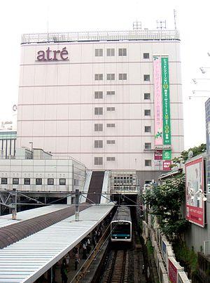 Ōimachi Station - The Keihin-Tohoku Line platforms in July 2005