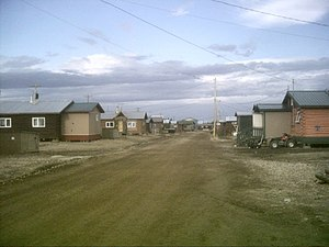 Old Crow, Yukon - Image: Old Crow, Yukon 1