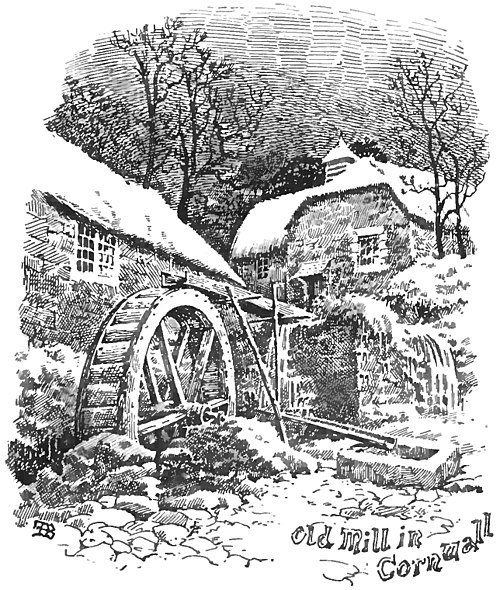 Old Mill in Cornwall (An Old English Home and Its Dependencies).jpg