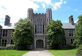 Summit High School (New Jersey) - Former HS on Morris Avenue