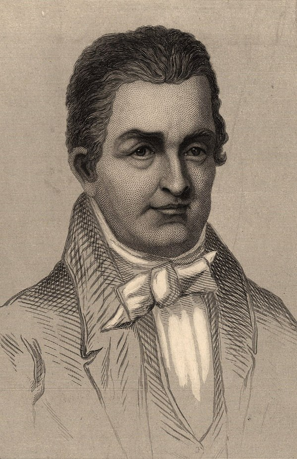 Oliver Evans (Engraving by W.G.Jackman, cropped)