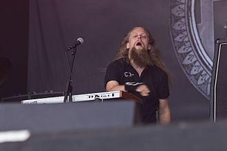 Omnium Gatherum - Keyboardist Aapo Koivisto at Rockharz 2016