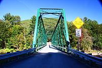 One lane bridge over West River on Rice Farm Road.JPG