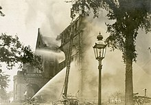 View Of The Fire 1909