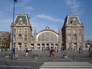 Oostende railway station - Image: Oostende Station 1