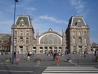 Oostende railway station railway station in Belgium