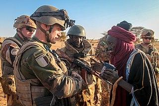 Operation Barkhane French military operation
