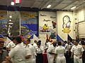 Open house on the hangar deck of the USS Carl Vinson while docked in Singapore - 20141002-03.jpg