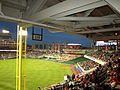 Opening of Nationals Park - Right field foul pole (2378787344).jpg