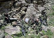 Operation Torri command post