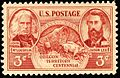 Oregon Territory Centennial 3c 1948 issue.JPG