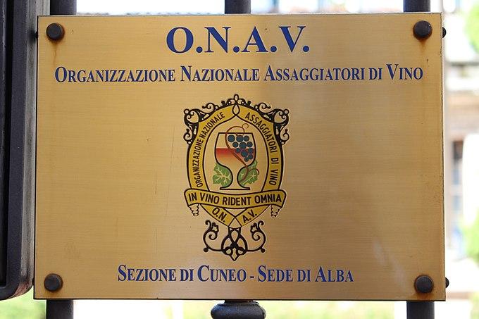 Organizzazione Nazionale Assaggiatori di Vino - ONAV - Alba