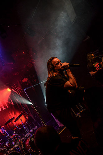 Origin (band) - Performing in 2014 in Colmar, France
