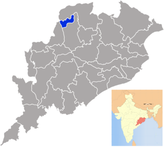 Jharsuguda district - Image: Orissa Jharsuguda