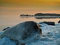 Osłonino. Zimowy poranek nad Zatoką Pucką.jpg