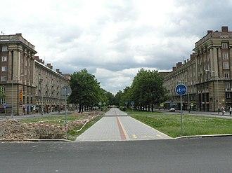 Poruba (Ostrava) - Boulevard in Poruba