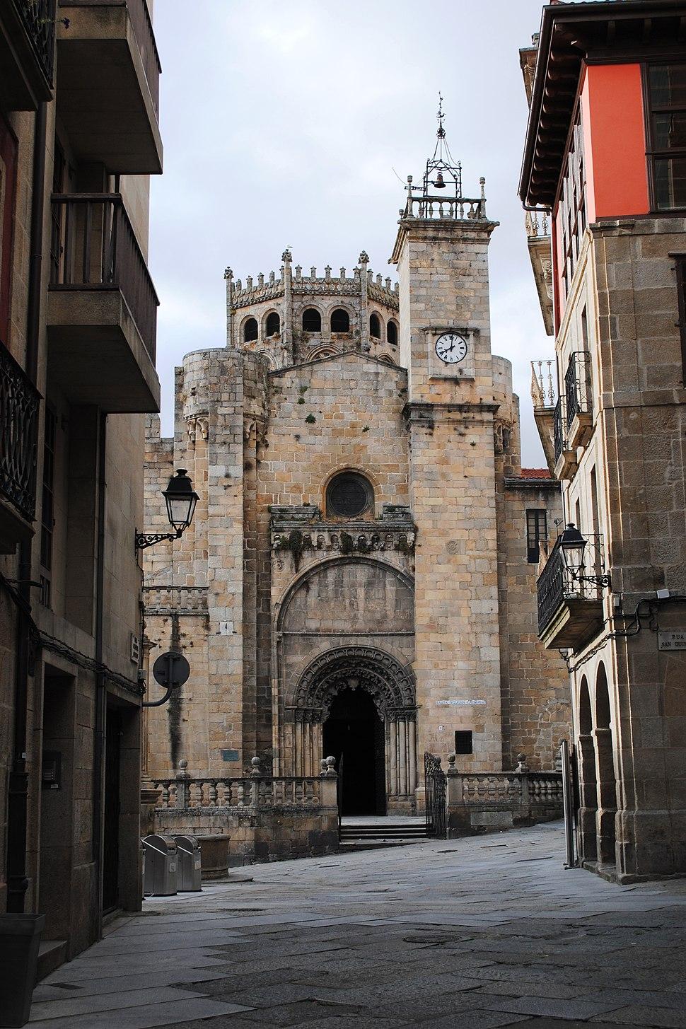 Ourense, Catedral, fachada