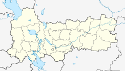 Vologda is located in Vologda Oblast