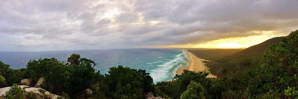 Overlook of Hat Head National Park