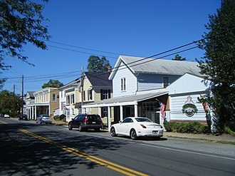 Oxford, Maryland - Stores on North Morris Street