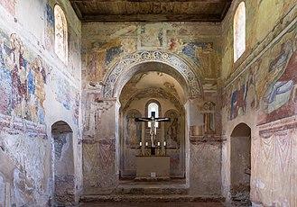 Stainach-Pürgg - Image: Pürgg Johanneskapelle Innenraum 01