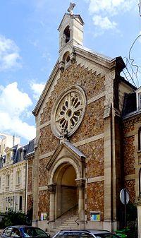 P1040909 Paris XVI rue Cortambert n°19 temple de Passy-Annonciation rwk.JPG