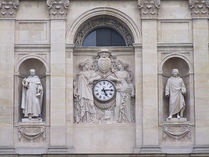 Fichier:PA00088485 - Sorbonne (détail façade principale).jpg