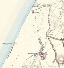 PEF map - ESDUD, Isdud-Ashdod and Wadi Sukereir-Lakhish 1880