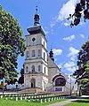 PL-Odporyszów, dzwonnica kościóła Oczyszczenia Najświętszej Maryi Panny 2013-05-31--12-44-11-001.jpg