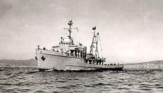 Snipe incident - Patrol boat Lientur of the Chilean Navy, a former US Navy fleet tug