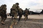 PRT Farah conducts medical evacuation training with Charlie Co., 2-211th Aviation Regiment at Forward Operating Base Farah 130109-N-IE116-304.jpg
