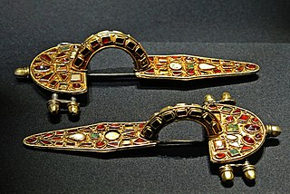 Fibula (brooch) ancient pin or brooch for securing clothing