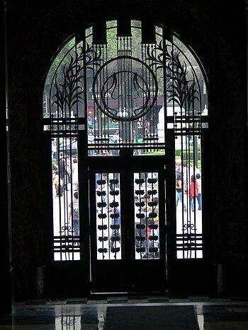 Palacio de Bellas Artes - Eingangst%C3%BCr