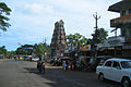 Palakkunnu Bhagavathy temple gopuram, Kasaragod.jpg
