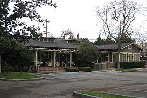 The former Community House in Palo Alto, Calif...