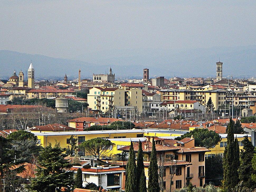 Panorama di Prato Dal Cupolin degli Ori 2