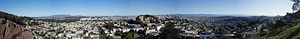 Tank Hill - Image: Panorama from Tank Hill, San Francisco