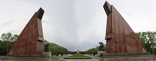 Panorama of the Russian War Memorial at Treptow