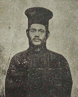 Kristo Negovani Albanian activist and religious leader