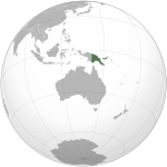 Papua New Guinea (orthographic projection).svg