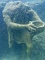 Parco archeologico di Baia - Ninfeo punta Epitaffio 12 - statua Ulisse.jpg
