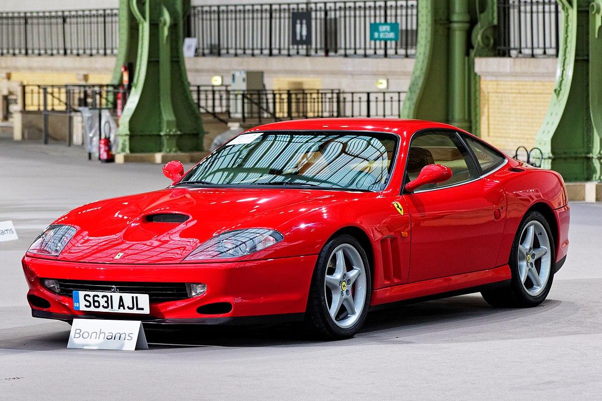 Ferrari 550 Wikipedia 2004 Gto Fuse Box Location