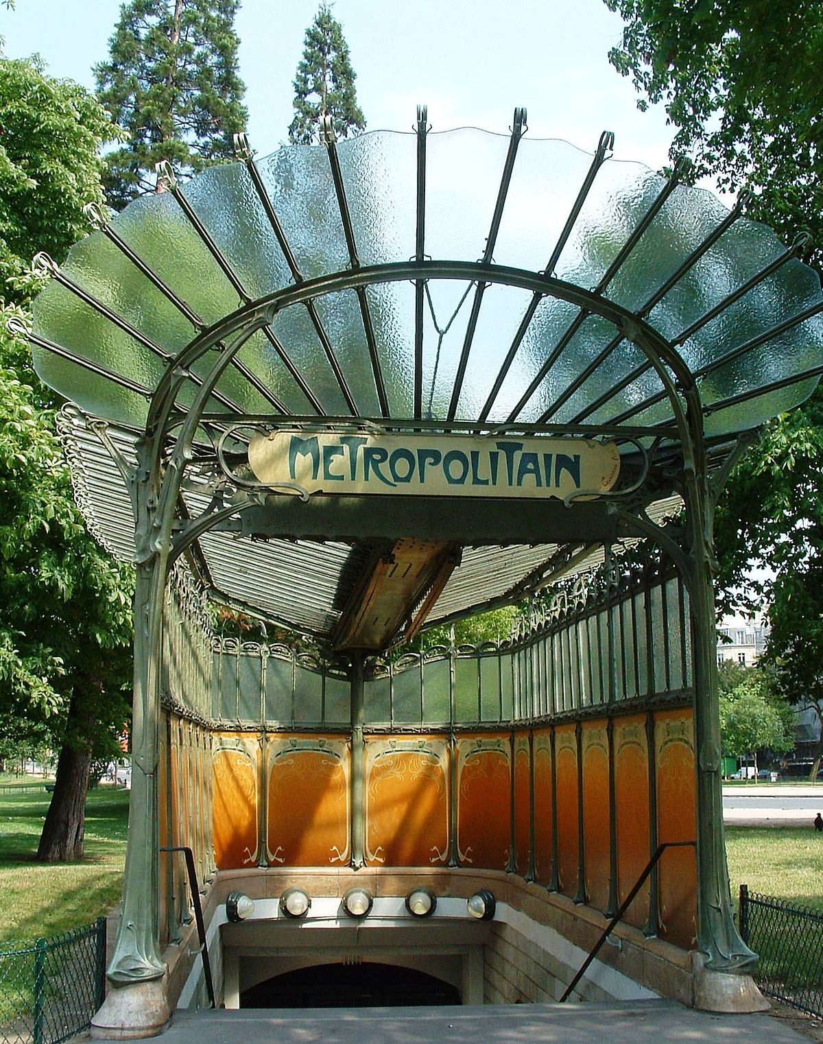 Porte dauphine wikip dia - Art nouveau architecture de barcelone revisitee ...
