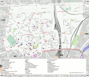Paristh Arrondissement Travel Guide At Wikivoyage - Show map of paris arrondissements