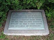Parker's Battery Memorial in Fredericksburg National Cemetery