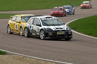 Lydden Hill Race Circuit - Pat Doran and his Ford Fiesta, Lydden 2006