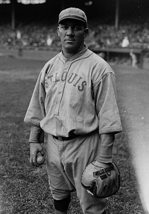 Pat Collins - Collins with the St. Louis Browns, 1922