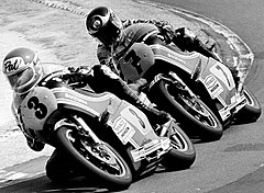 Pat Hennen i Barry Sheene w 1978