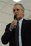 Pat Riley speaks at Eglin Air Force Base (cropped).jpg